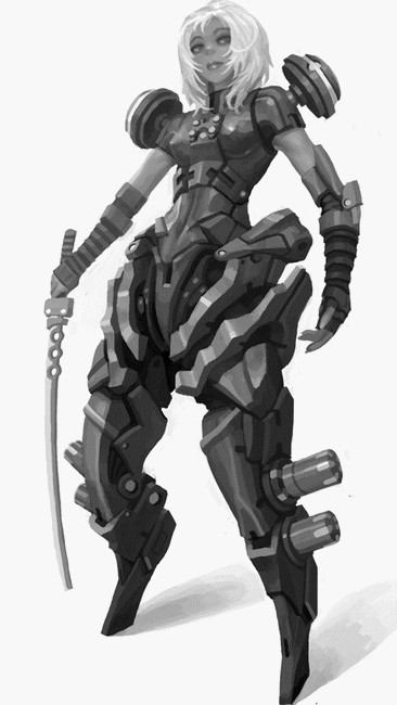 Armure Futuriste armure
